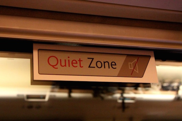 Çocuksuz bölge quiet zone