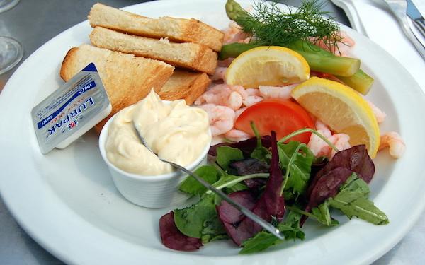 Kopenhag Danimarka yemekleri