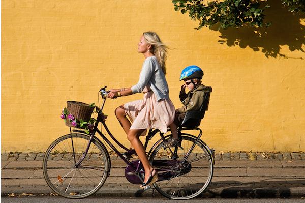 Bisiklet ile Kopenhag'ı gezmek