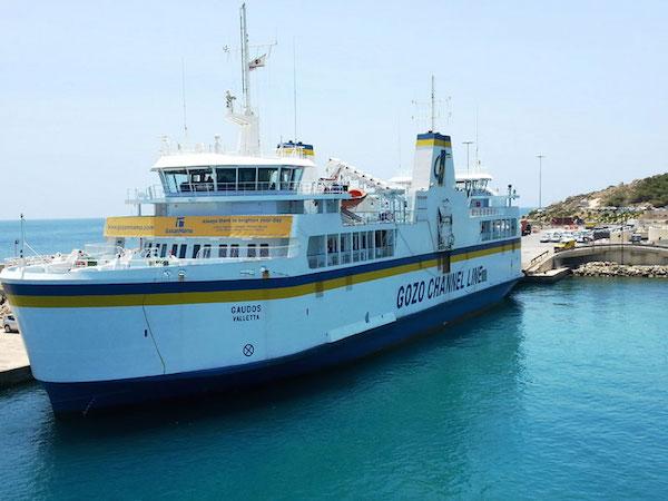 Malta ulaşım gemi feribot