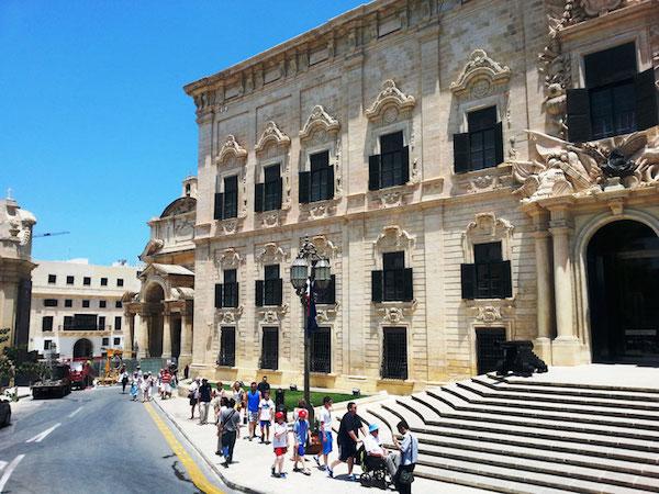 Valletta Malta Adası