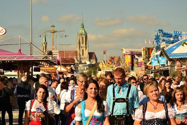 Oktoberfest gezi rehberi, bira festivali