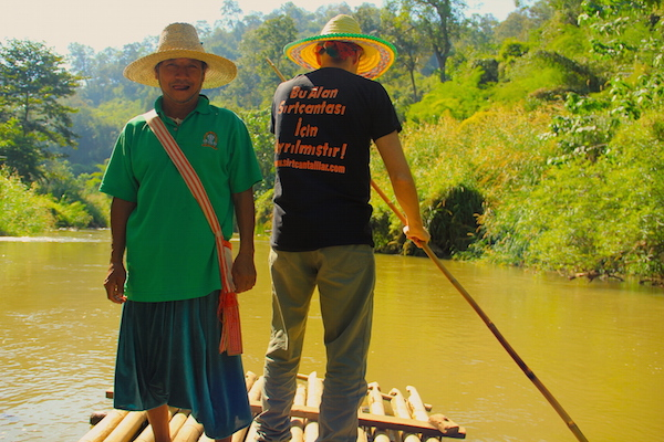 Bambu Sal Rafting