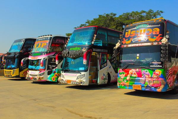 Tayland Şehirlerarası Otobüsleri
