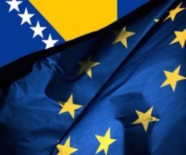 Bosna Hersek AB Avrupa Birliği EU