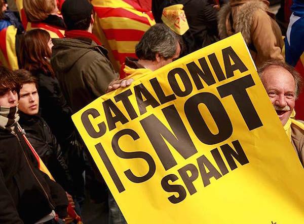Katalonya bağımsızlık mücadelesi, Katalanlar ve İspanya ayrı