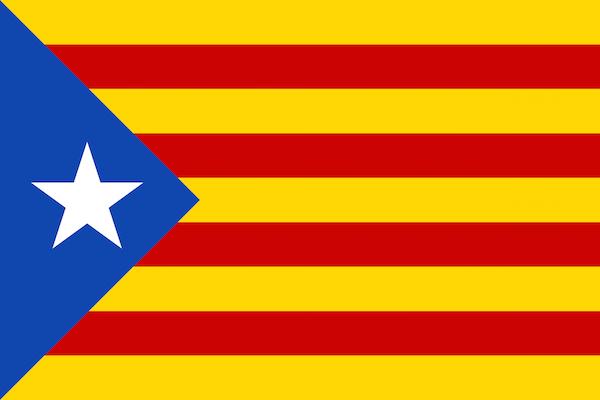 Katalonya gezi rehberi, Katalonya bayrağı