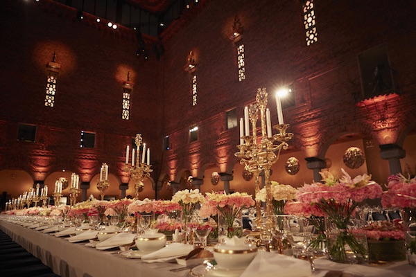 Stockholm city hall nobel dinner