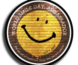 dünya gülümseme günü world smile day