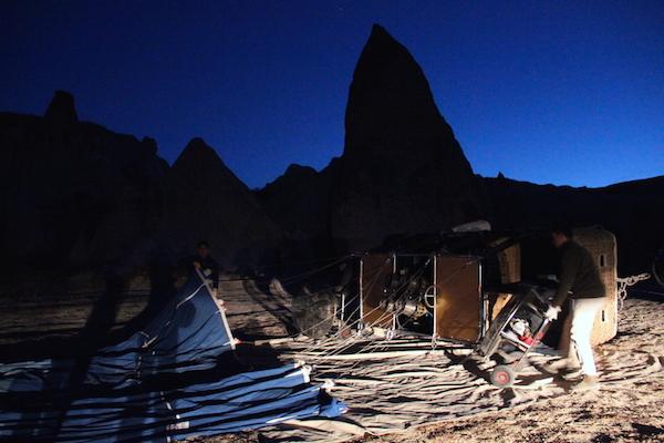 Kapadokya Sabah Saatleri