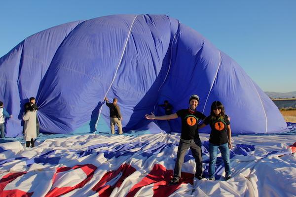 Kapadokya'da Balon Turları